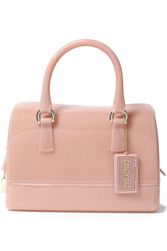 Candy mini PVC tote furla pastel pink