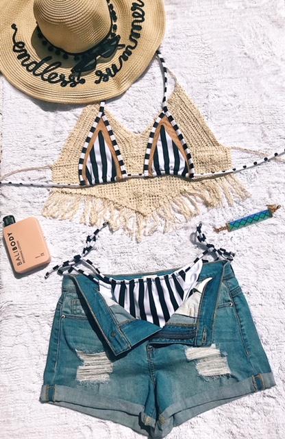 Shh by Sadie Cai swimwear beach babe vacation wear