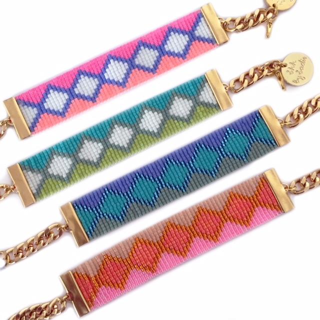 Colourful resort wear summer jewellery shh by sadie british designer