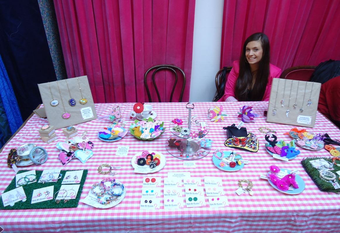 Here I am at my very first market at Mighty Mighty Markets on Cuba Street, Wellington in 2011