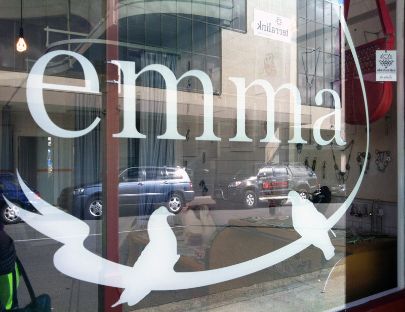 One of my first Shh stockists, Emma