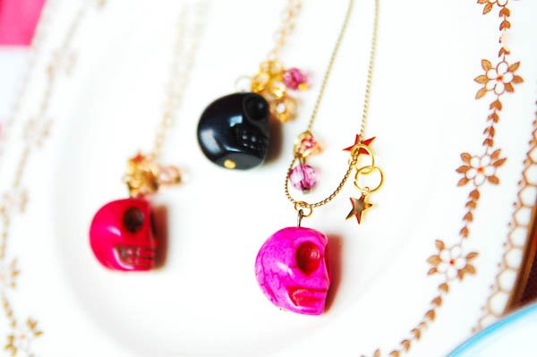 Skull necklaces