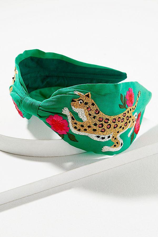 River Embroidered-Embellished Headband