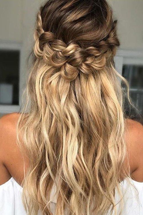 Simple Elegant Wedding Hair Styles For Long Hair Shh By Sadie