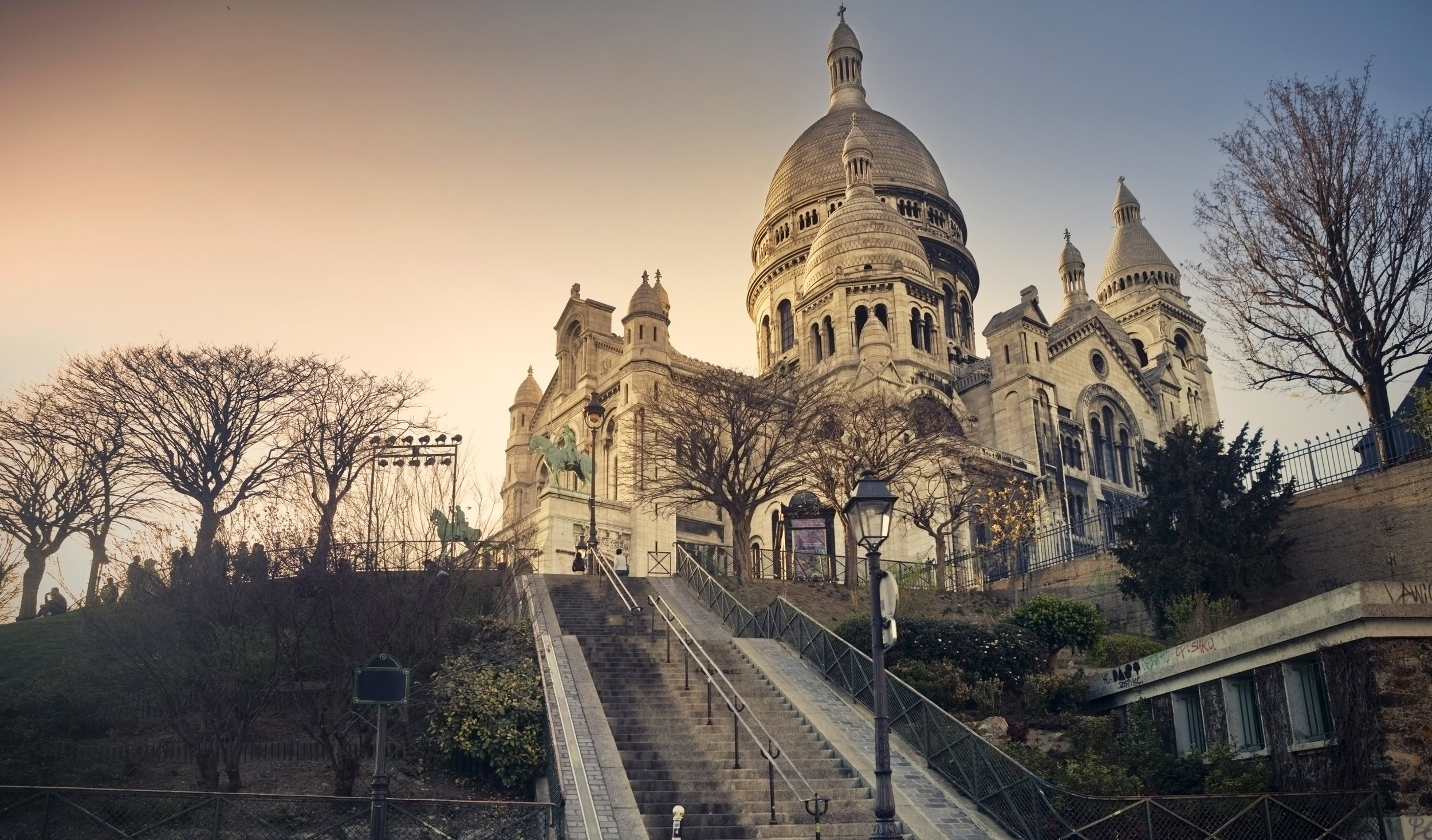 Montmartre New Years eve Paris