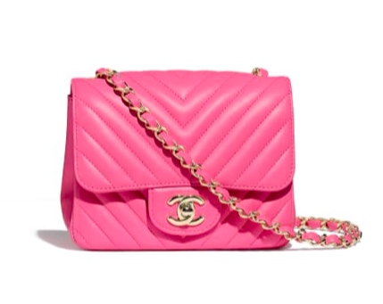 The pink mini Chanel I had my eye on