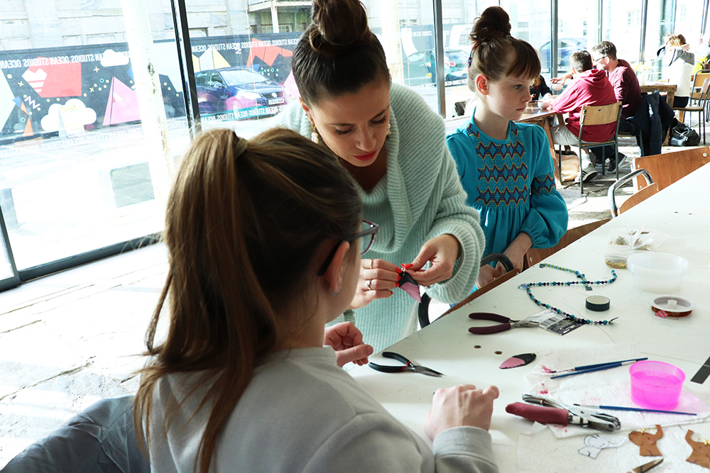 shh by sadie jewellery workshop ocean studios royal william yard plymouth