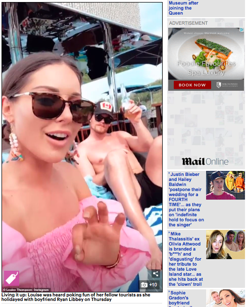 Shh by Sadie Pink Parrot Charm earrings featured in The Daily Mail