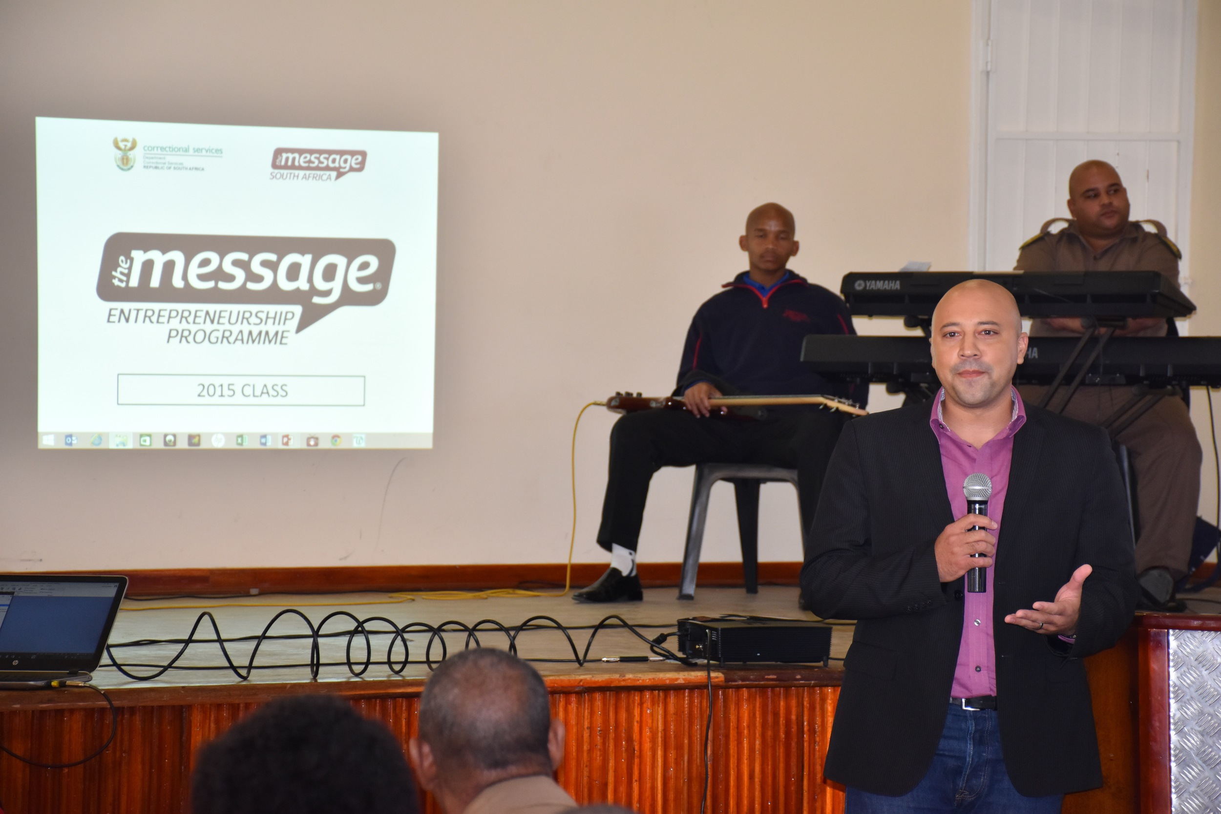 Pictured:Lloyd Williams, our keynote speaker from Learn to Earn.