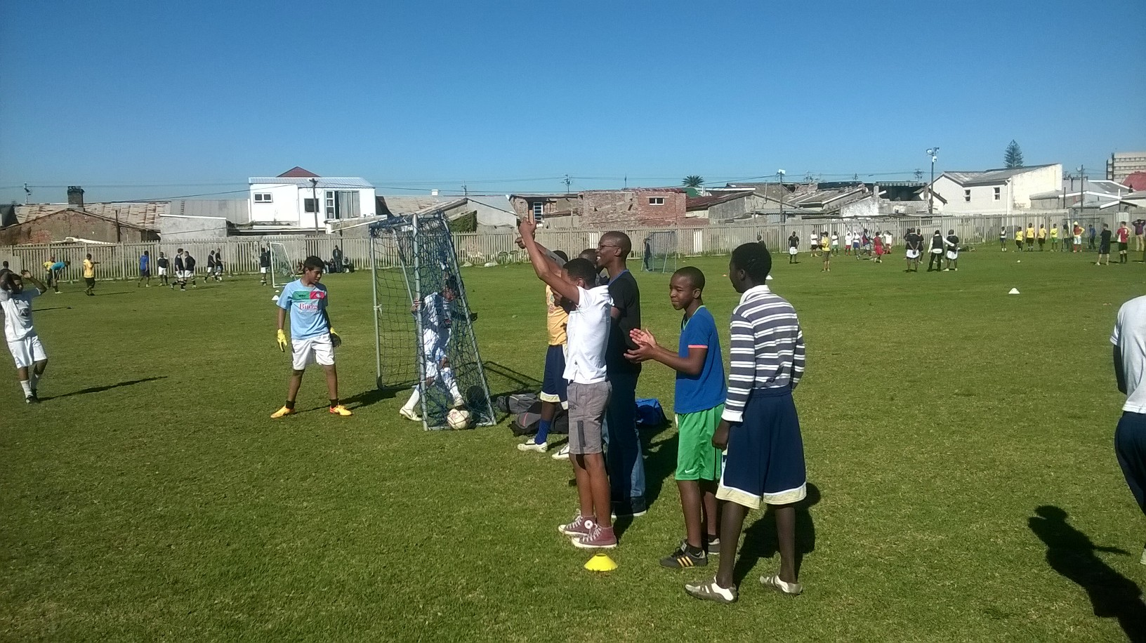 We had teams from all over Cape Town participate in the local tournament.