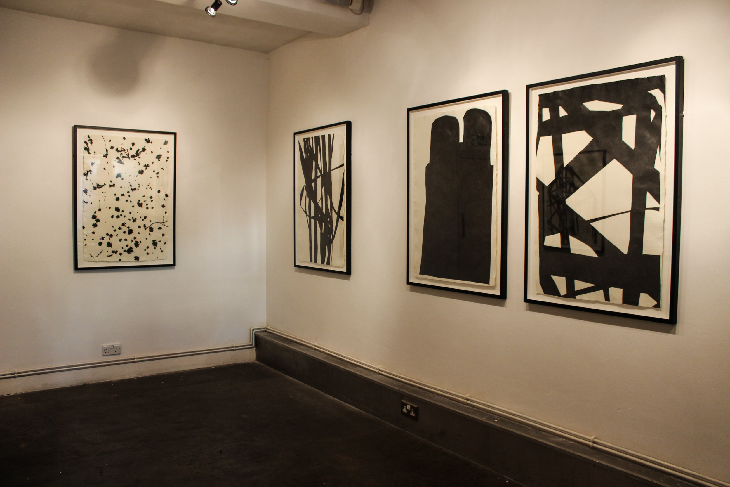 'Marked' Solo exhibition of drawings at Cueb Gallery, SE London, 2016
