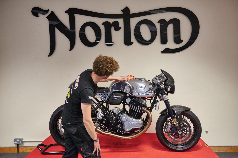 Norton Motorcycles factory