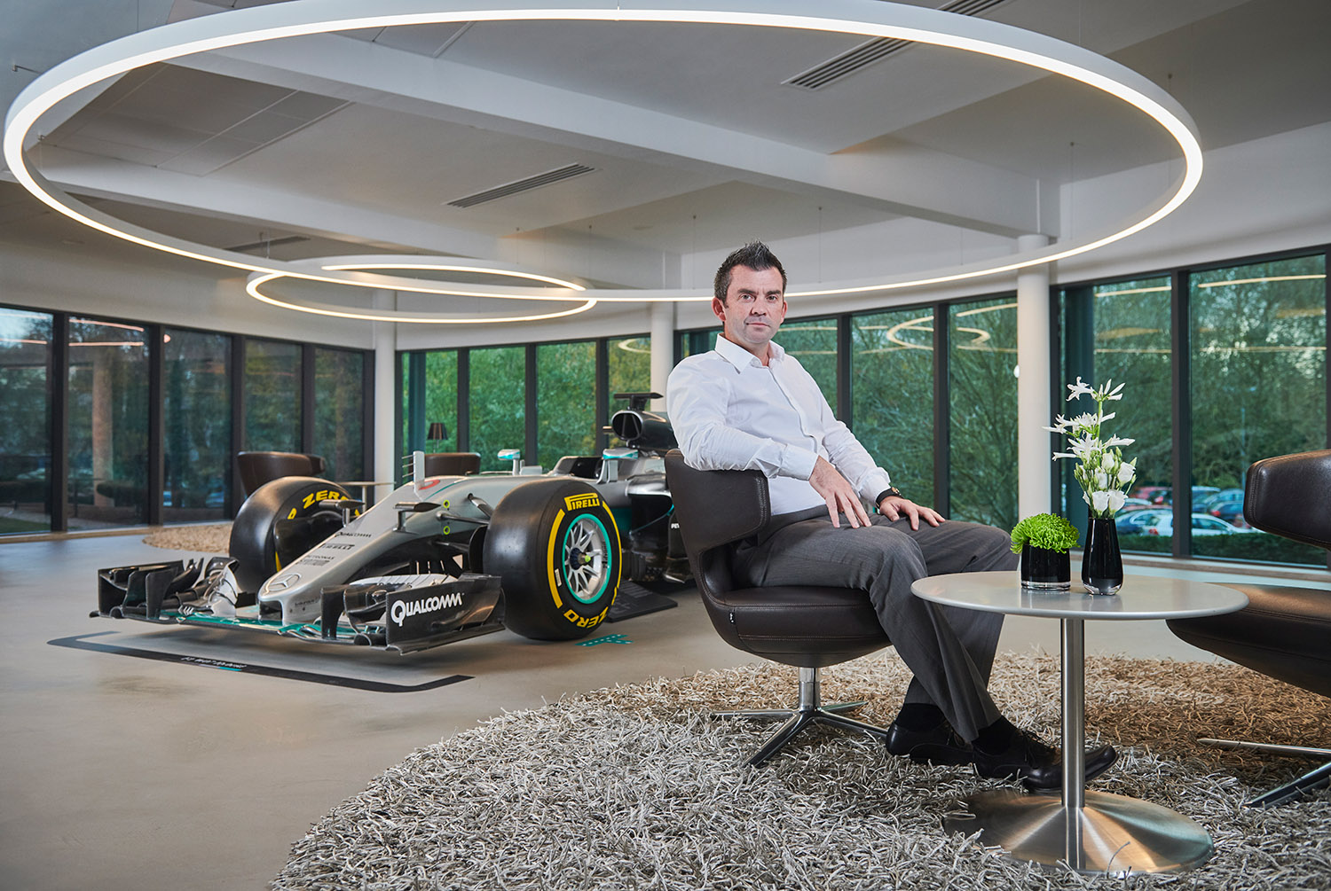 Google story about Mercedes Formula one team