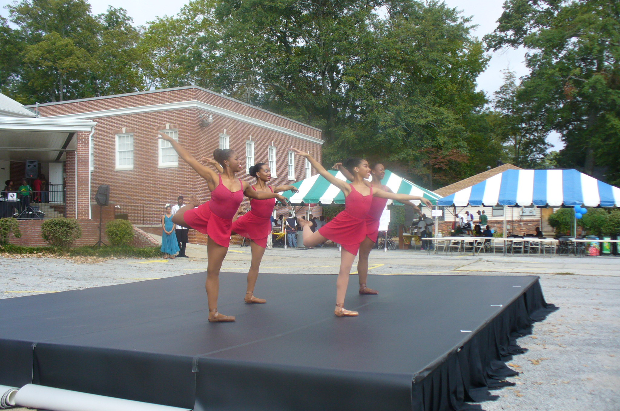 Ballethnic Dance Company. In perfect synch
