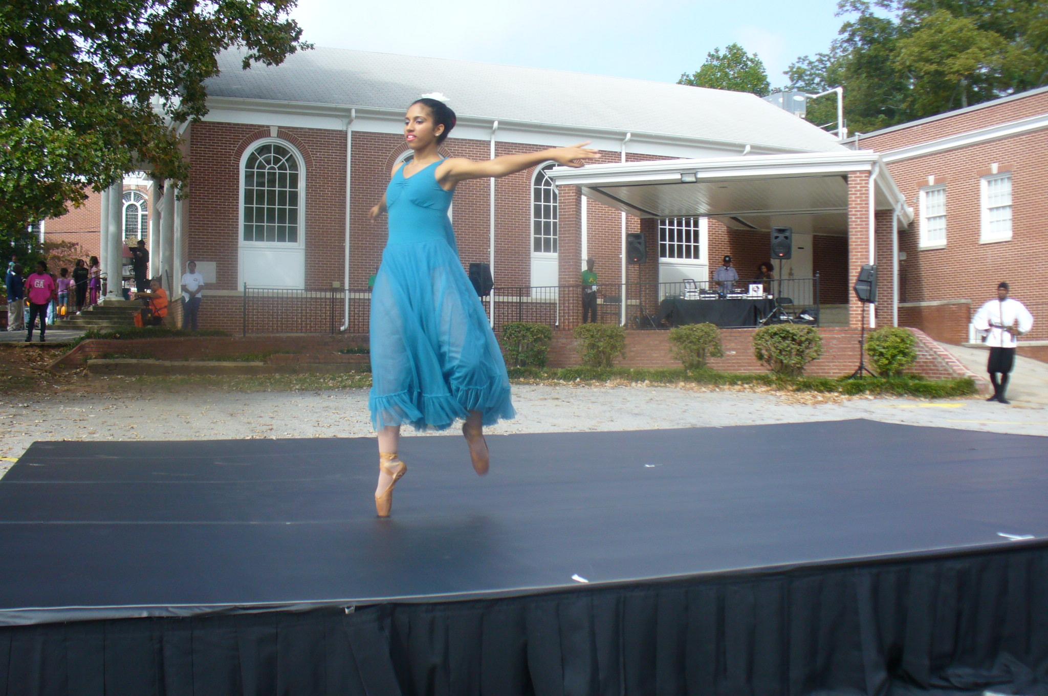 Ballethnic Dance Company. Beautiful solo performance.