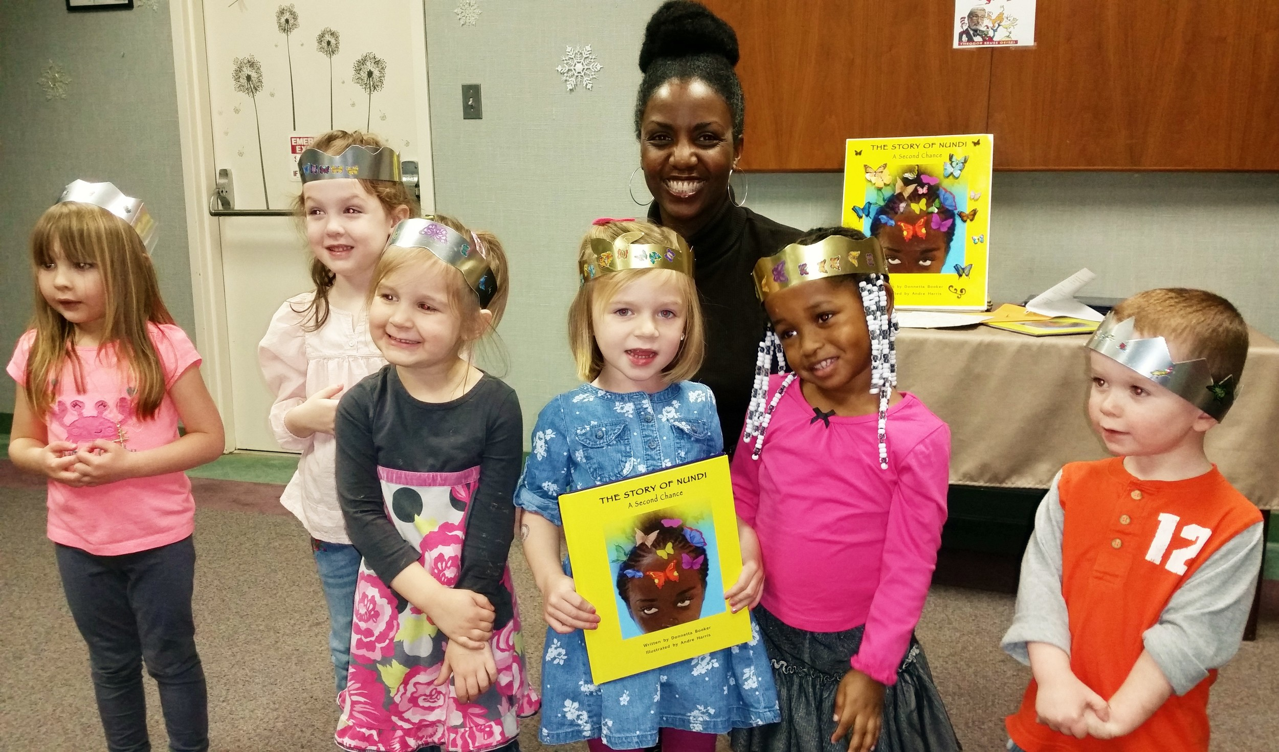 Story time is over.  Check out those cool hand-crafted crowns!