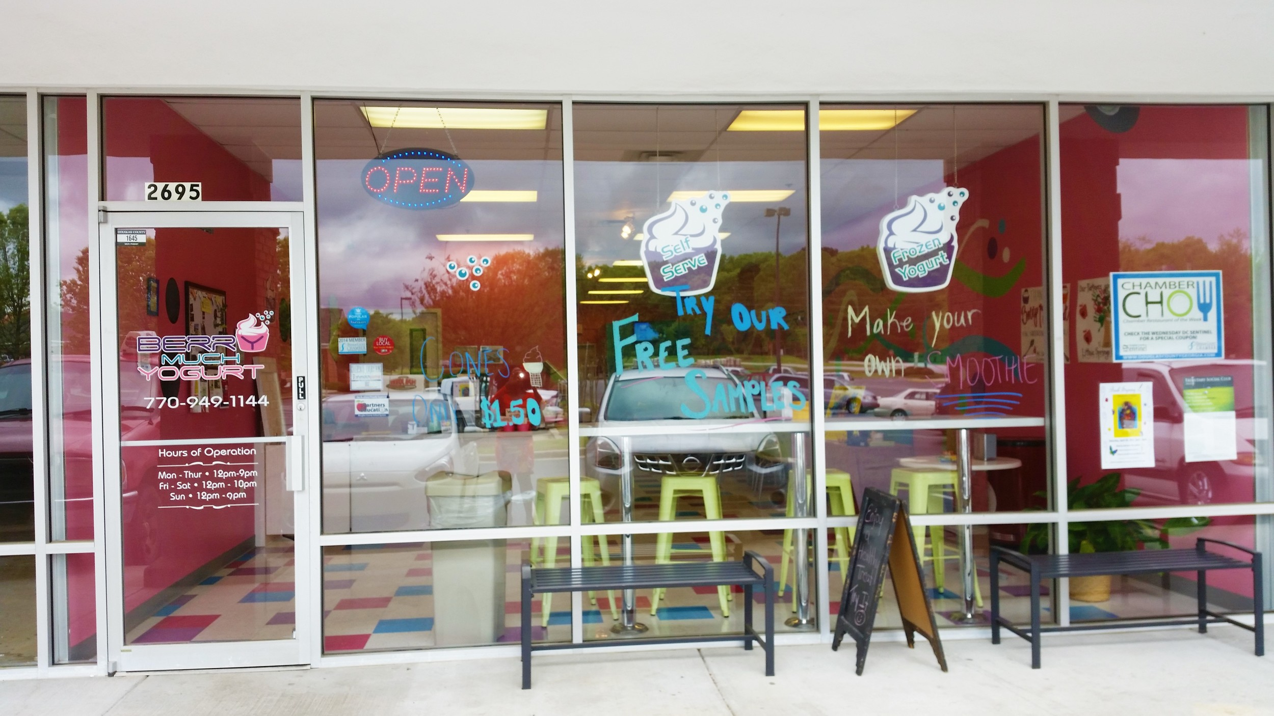 """This is the place.  Just looking at the store front makes you smile.  This location was voted """"Restaurant of the Week"""" for April 19 - 25, 2015."""