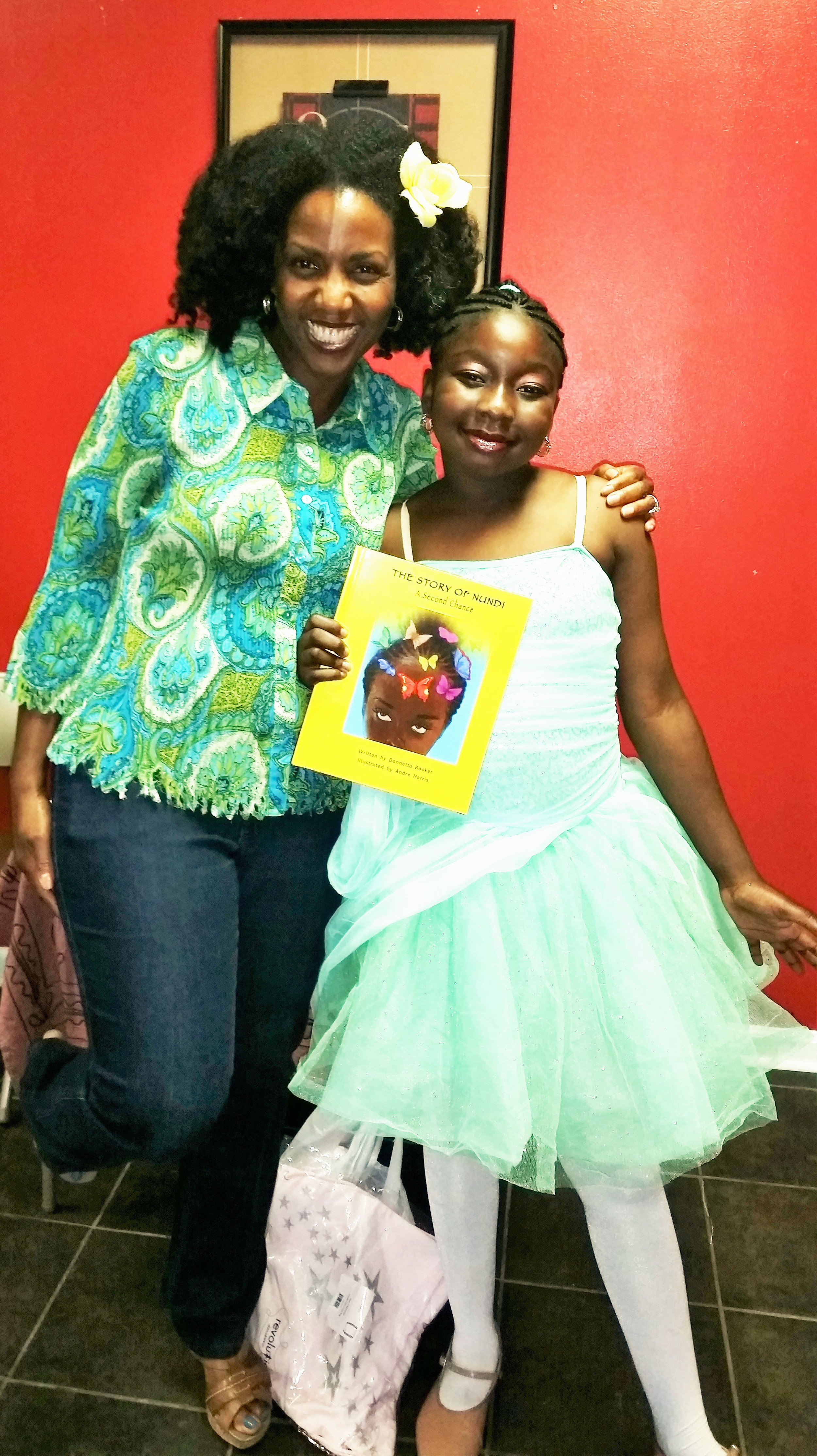 """Me and """"Nundi"""" after the show."""