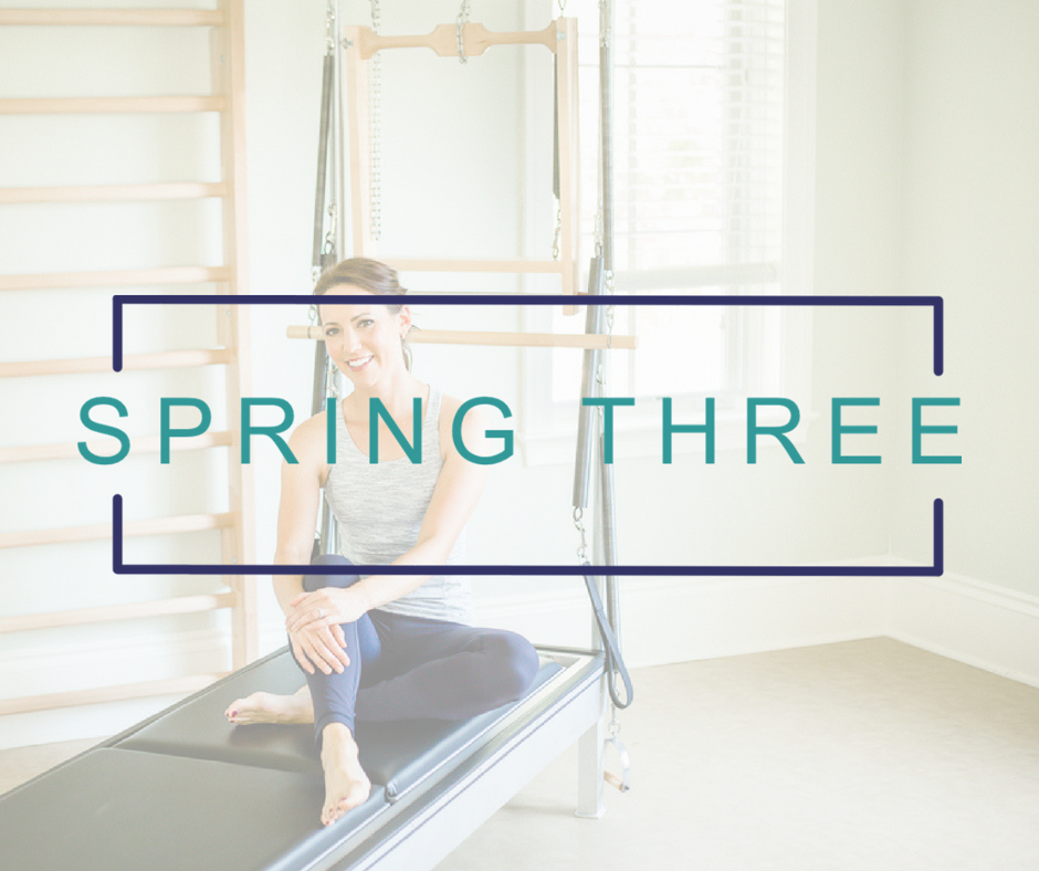 Spring Three | Pilates Business Consulting