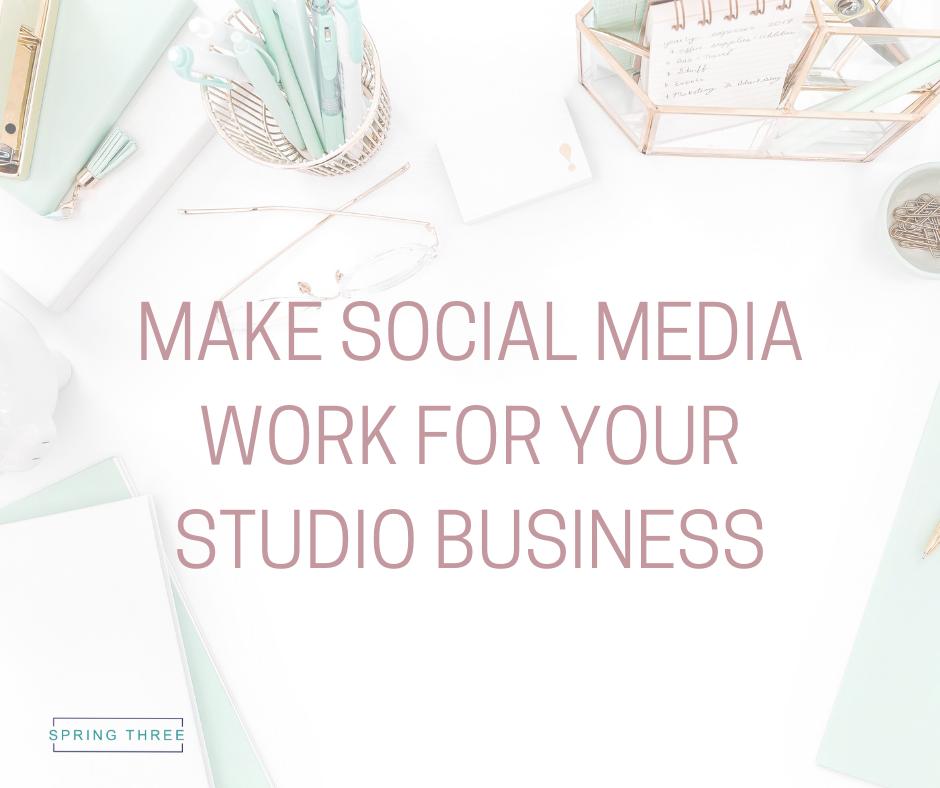 Social Media In Pilates Studio | SERAN GLANFIELD