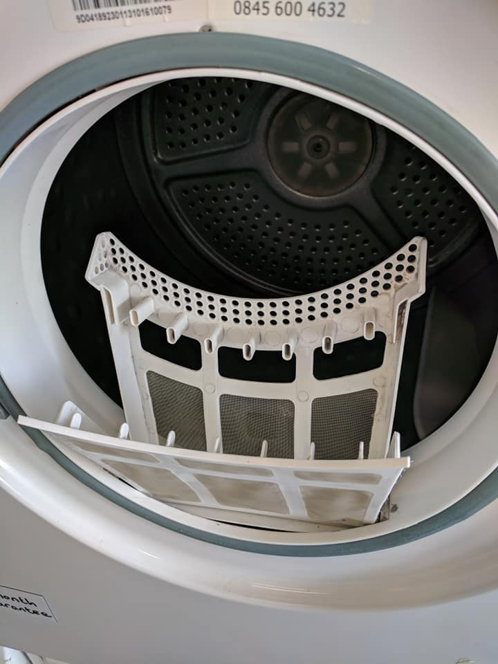 Clean filters - Every time you use the tumble dryer.