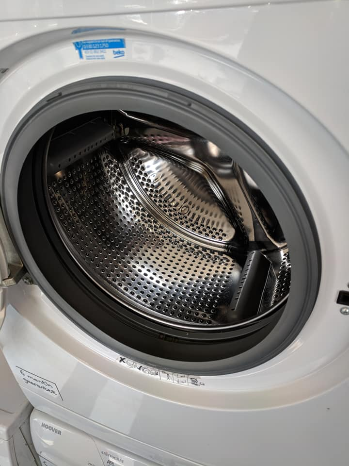 Clean your door seal. - Wipe around it with a cloth and remember to perform a maintenance wash (see below)