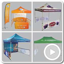 Printed Polyester Canopies