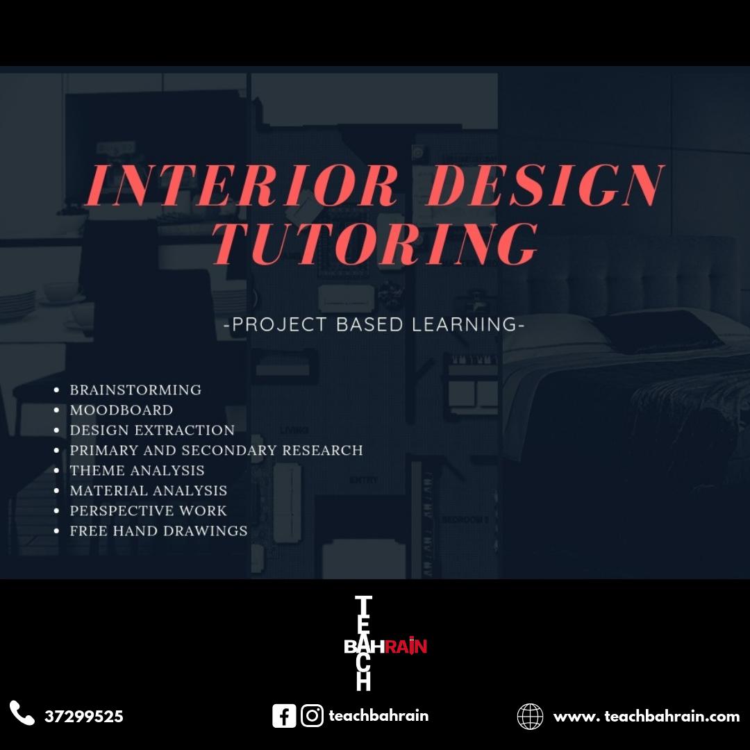 interior design Course in Bahrain