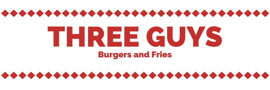 03-three guys - They serve juicy and tender burgers and the crispy curly french fries freshly made on order. Something different about them is options of lettuce wrap and Brown bun.LOCATION-Ajwad Aljabri Ave | Jerdab- Block 729- Road 77, Isa Town, Bahrain