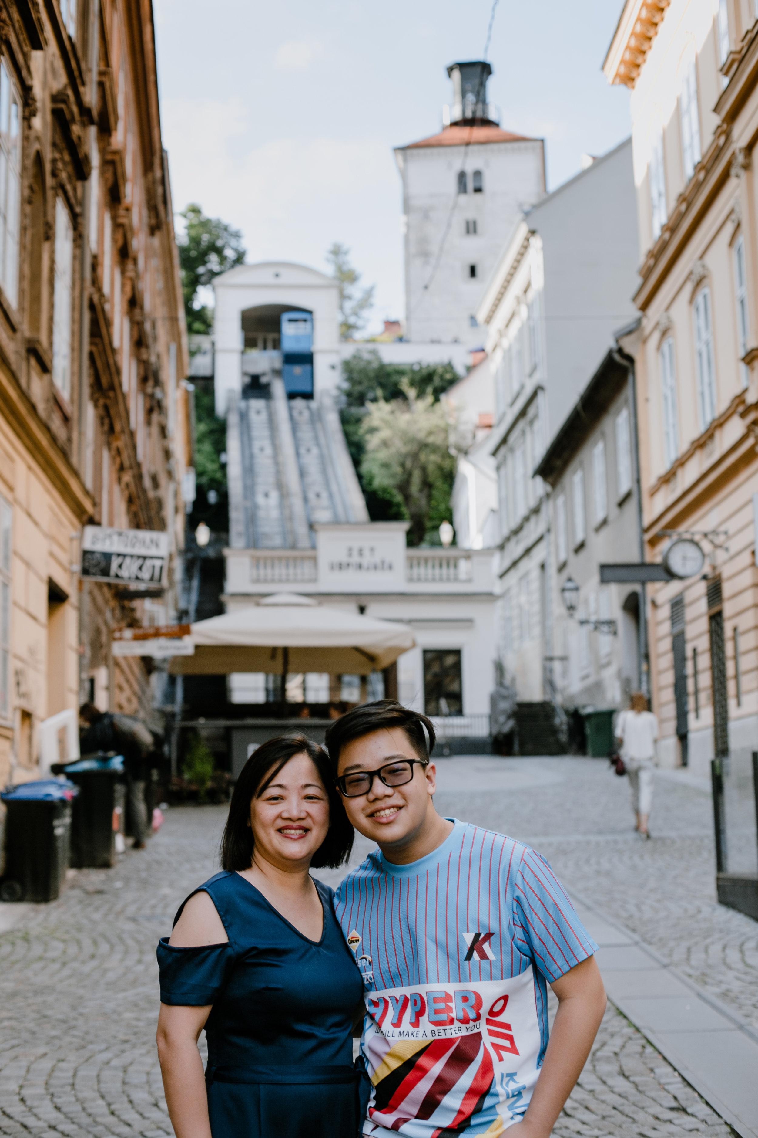 Annabelle & Patrick - Zagreb city portrait tour
