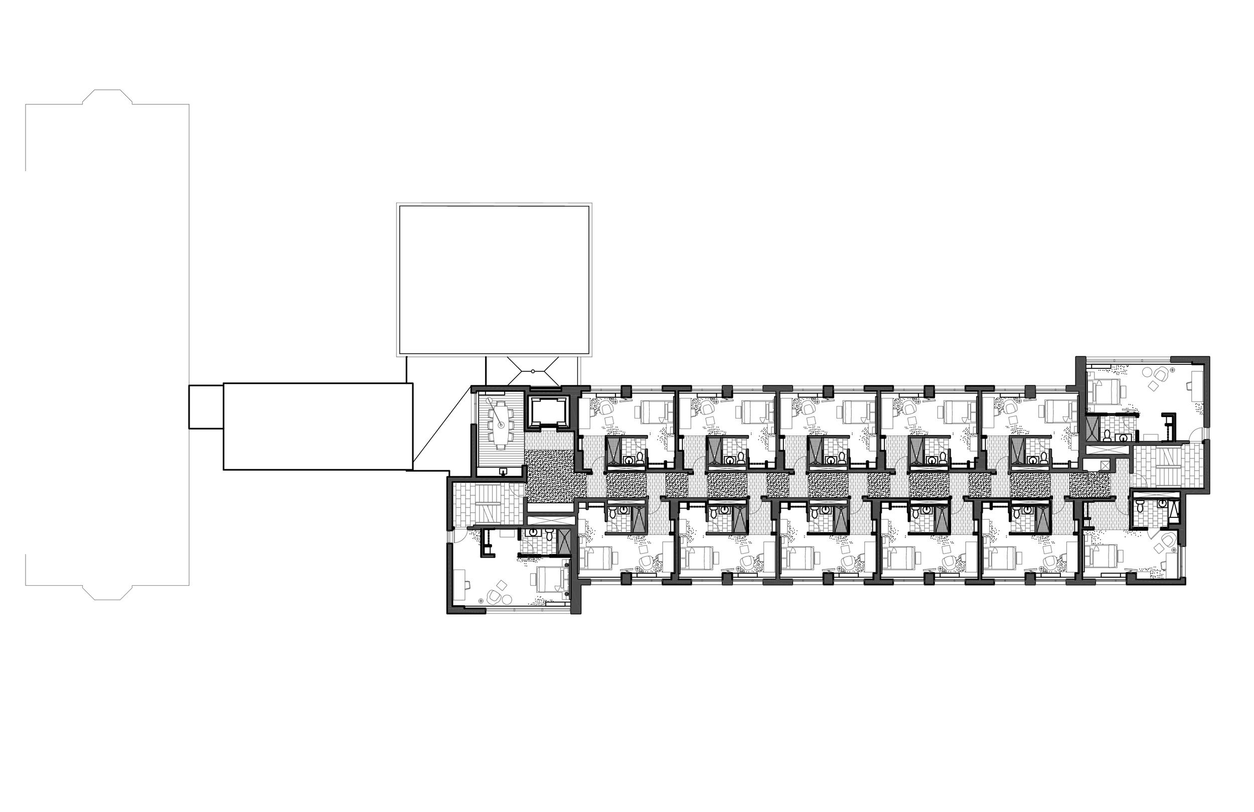 Buchanan Hall level 2 plan