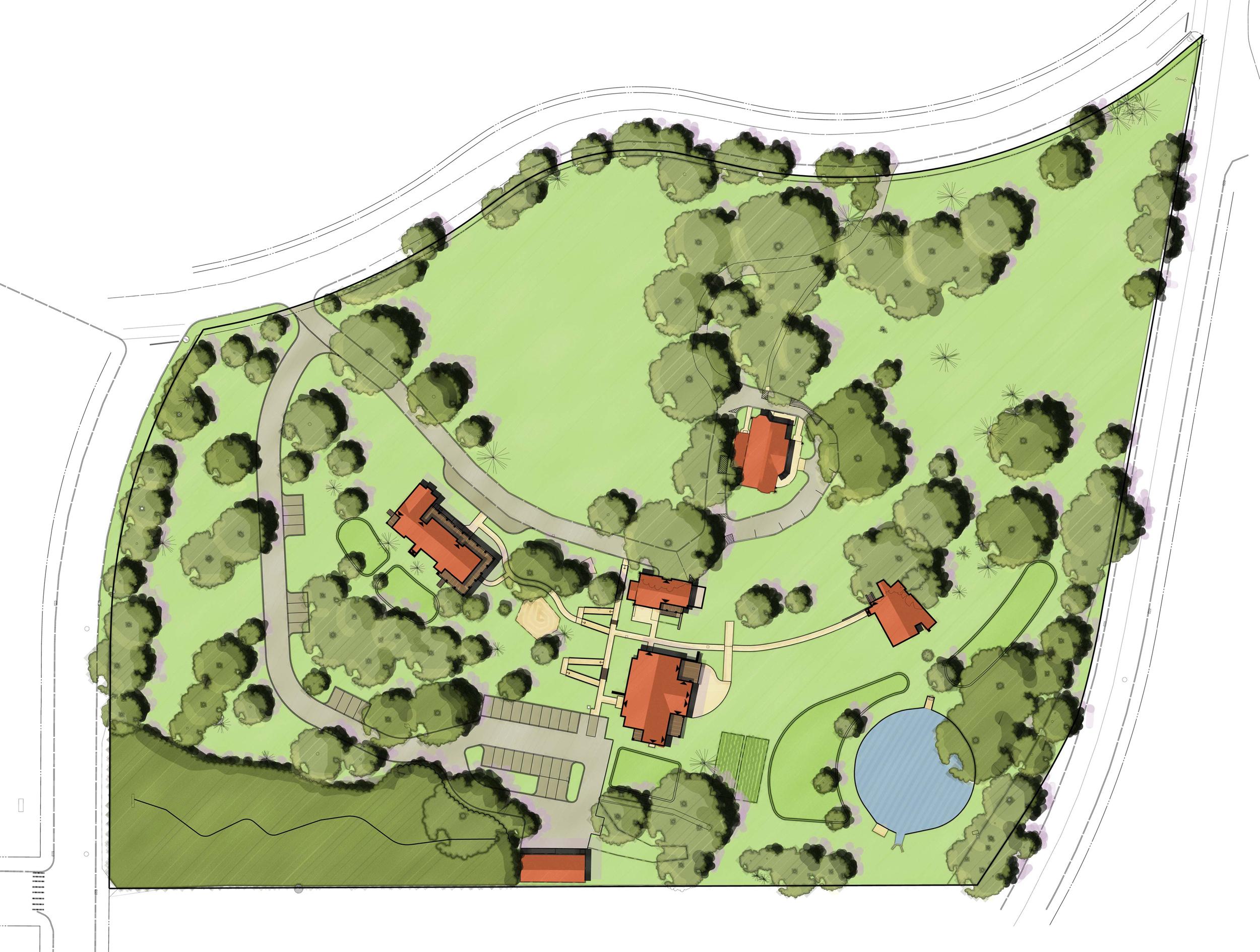 Cranaleith sketch site plan