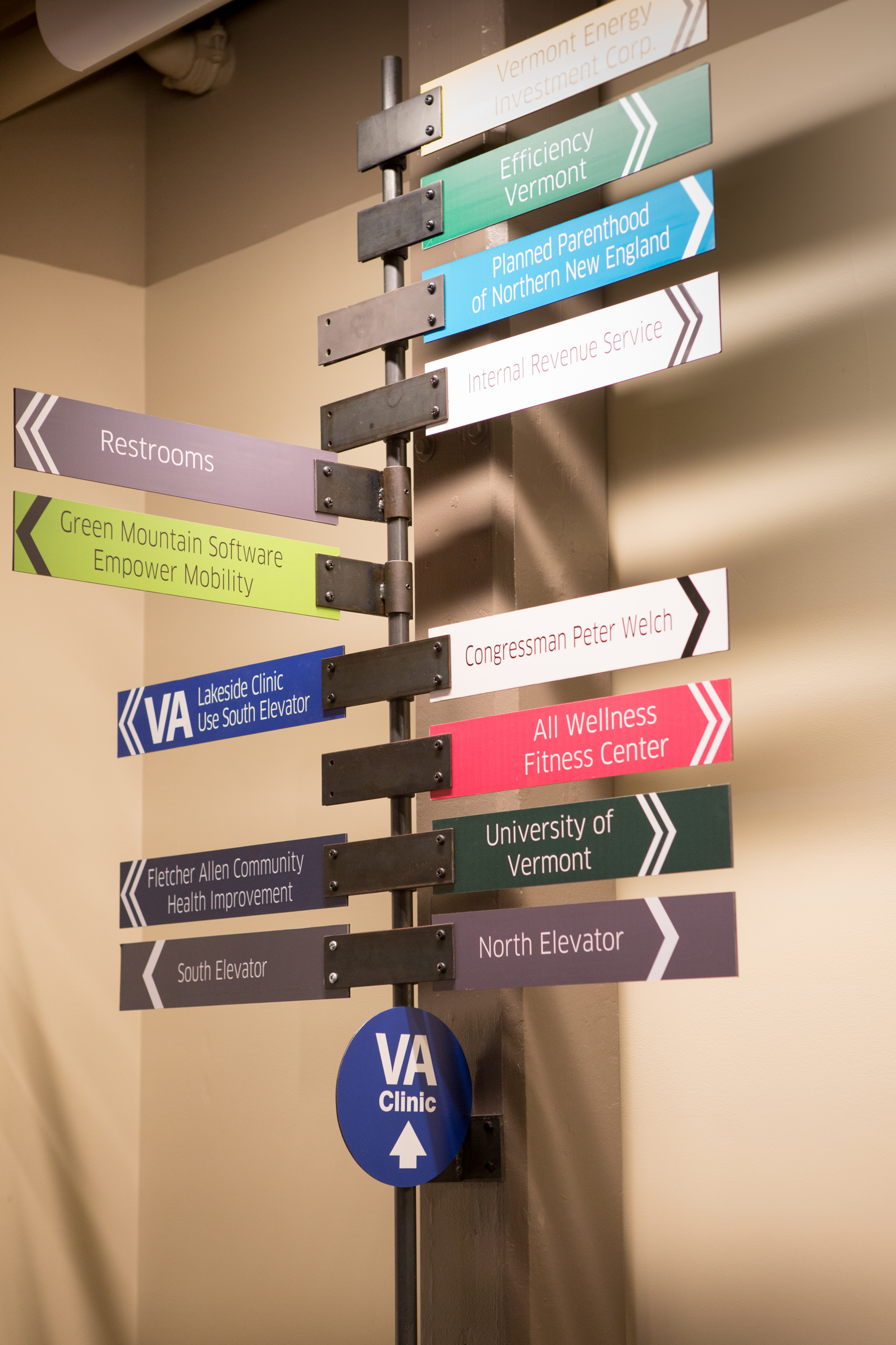 Way Finding Signage
