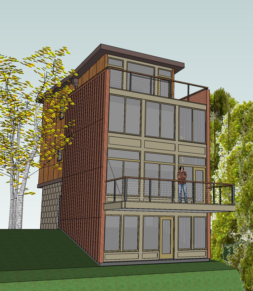 Lakeview House - Rendering