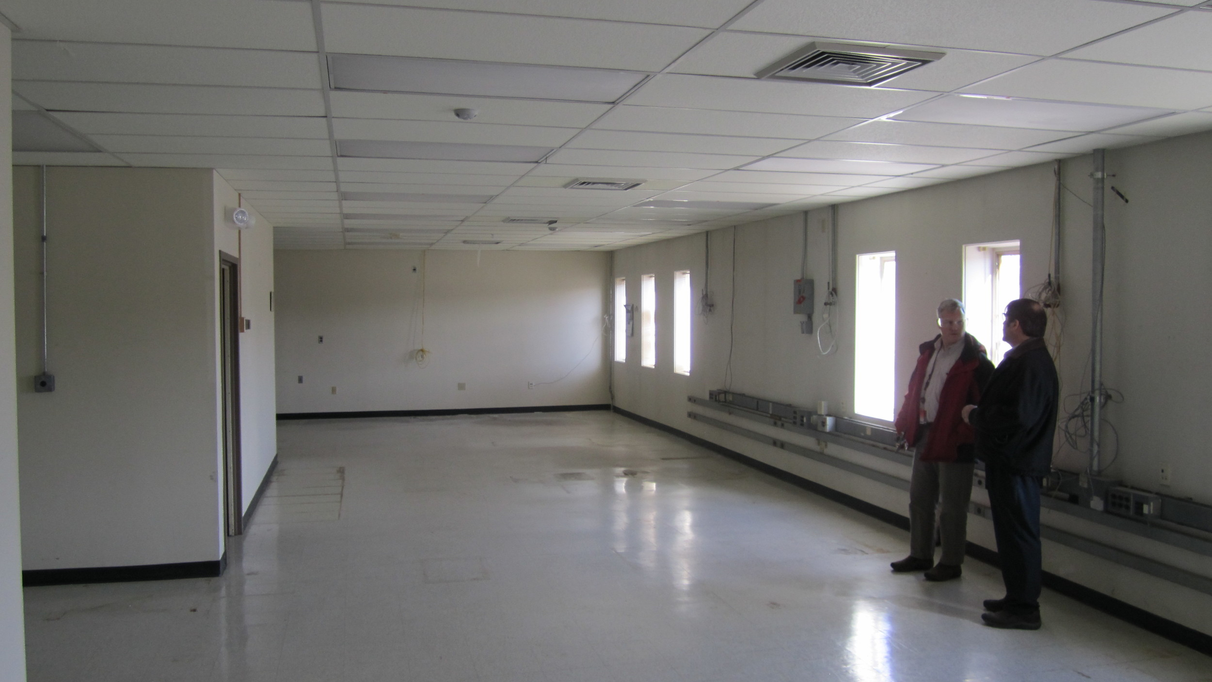 Office Space before renovation