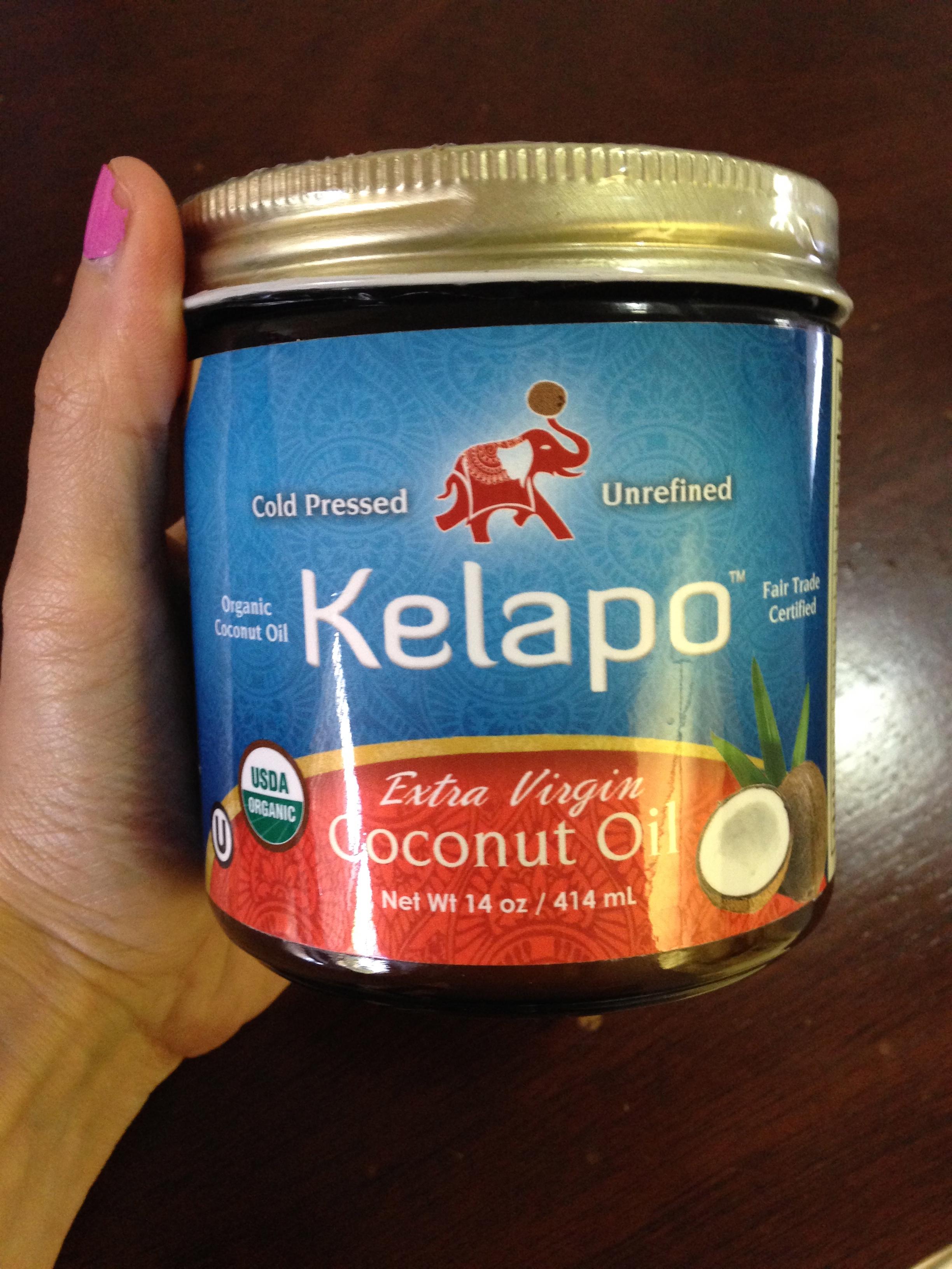Kelapo yummy Coconut Oil!