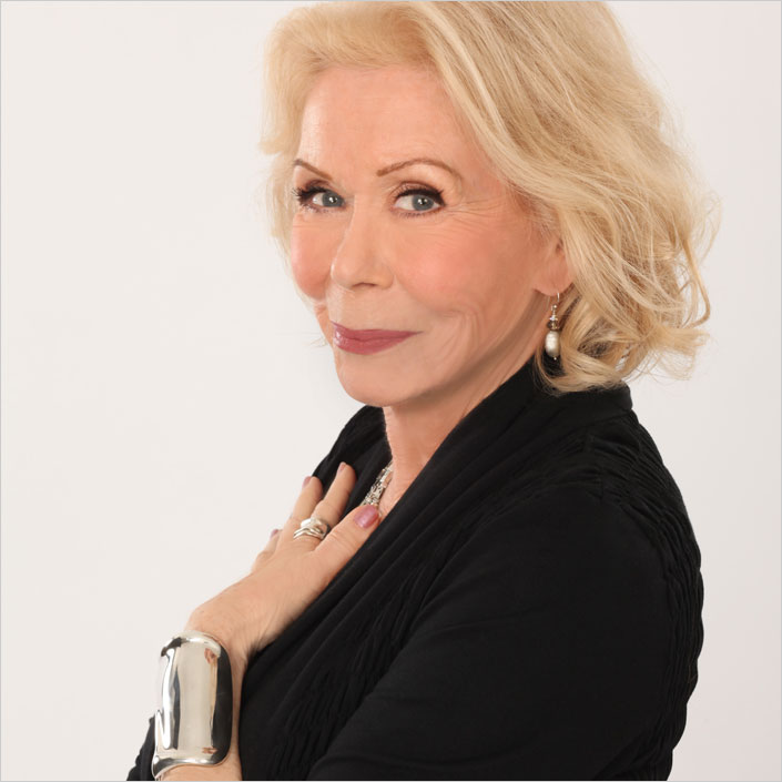 """Louise Hay. The Author of """"You Can Heal Your Life"""""""