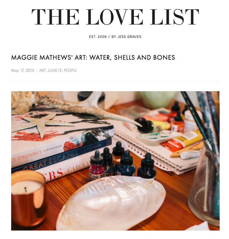 THE LOVE LIST - MAY 2015
