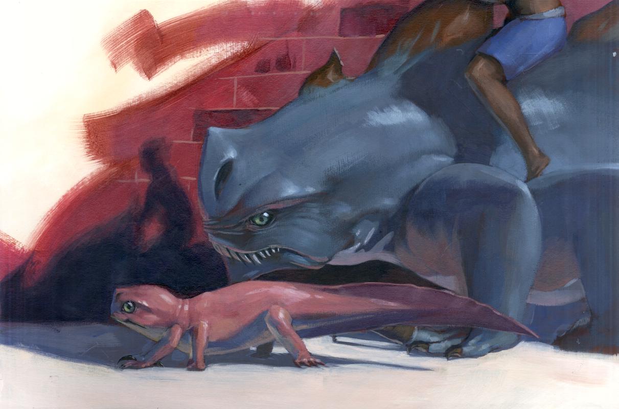 Goliath Salamander