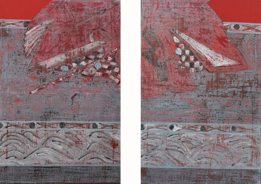 Passion I & II  81x54 cm, 2008