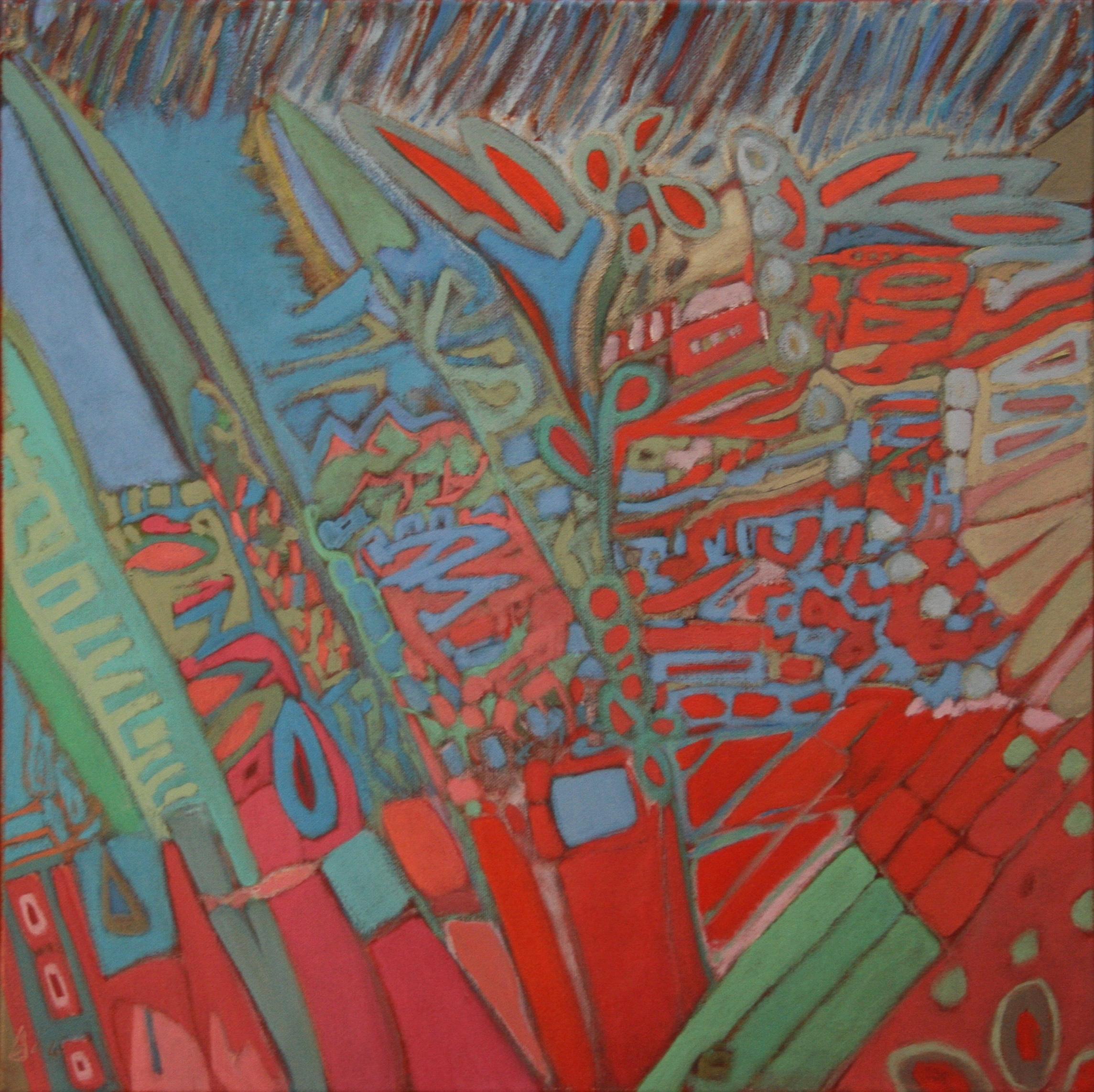 Eclat  50x50 cm, 2014