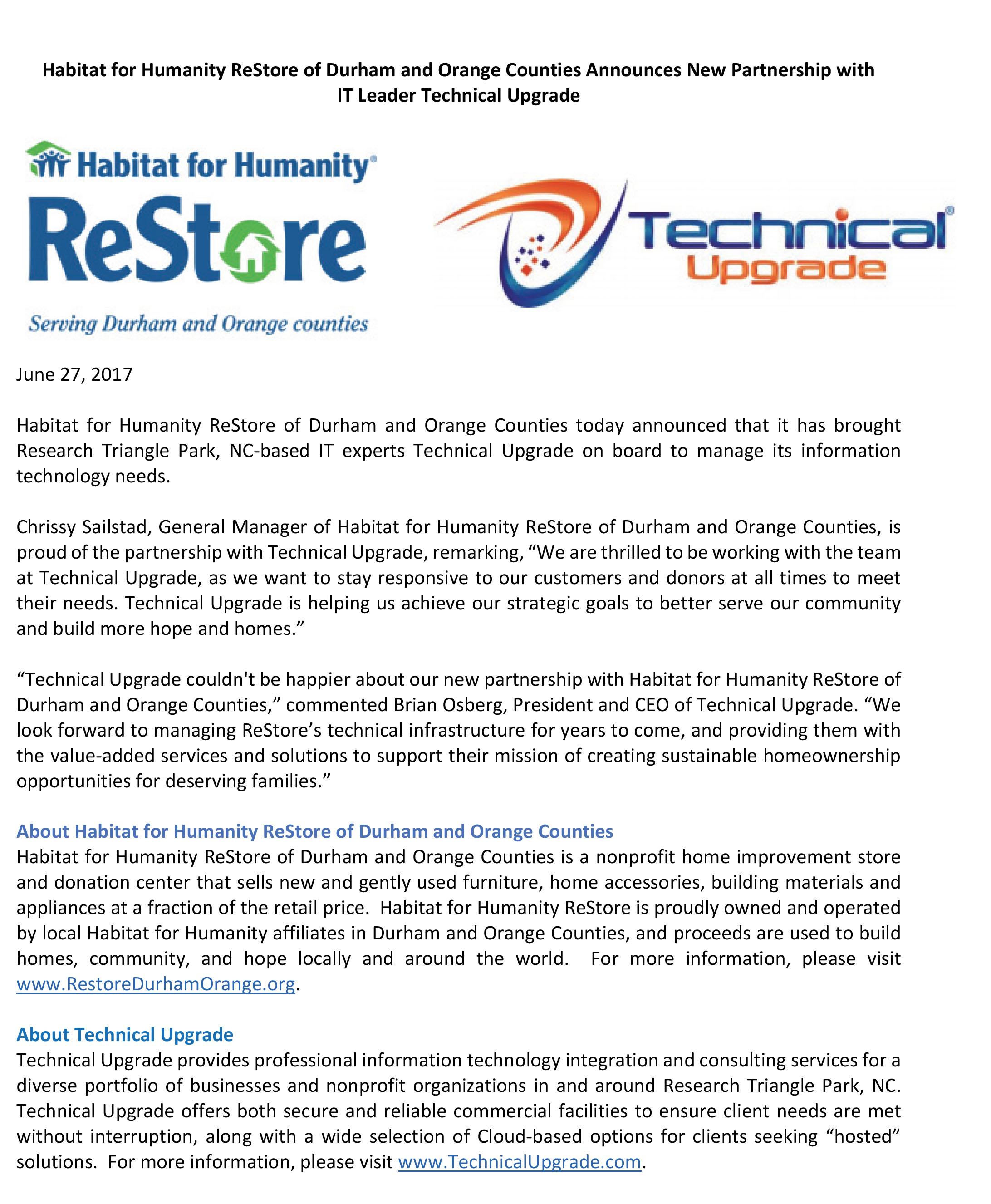 Microsoft Word - 2017_0627_TechnicalUpgrade_HabitatForHumanity_P