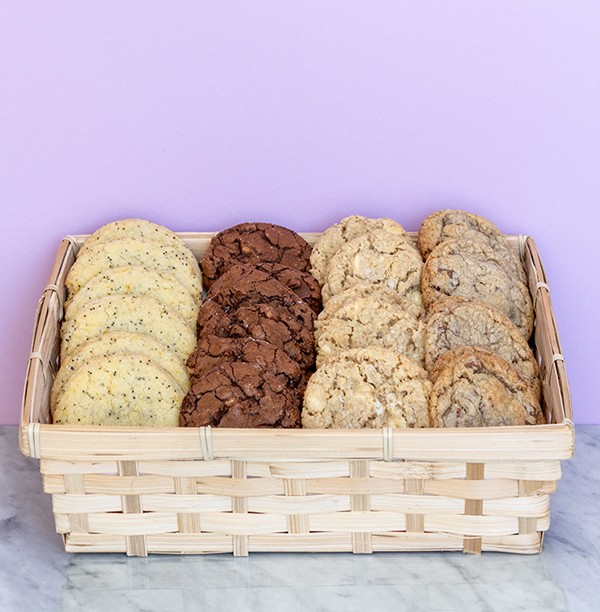 Gourmet cookie gift baskets - More fun than muffins and better than bagels, our cookie gift baskets are a sweet way to give an irresistible gift.