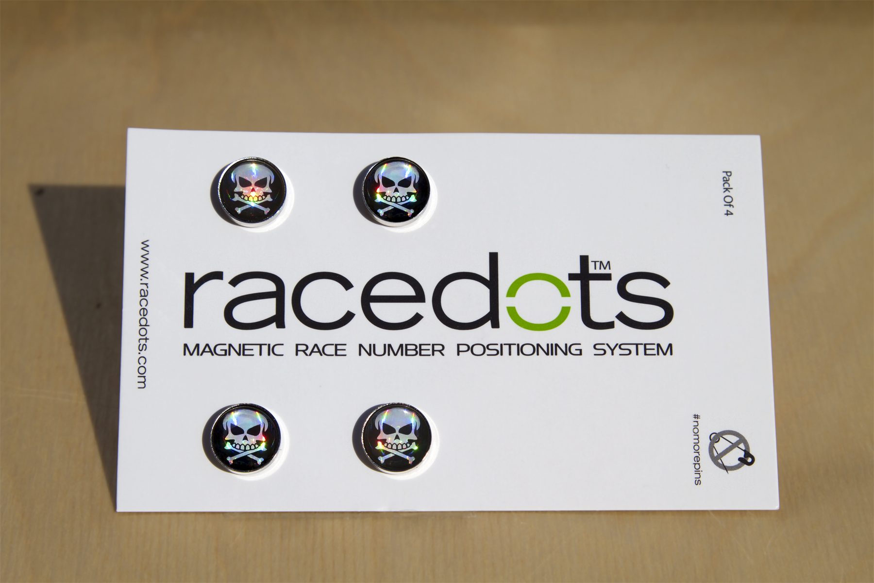 RaceDots pack of 4