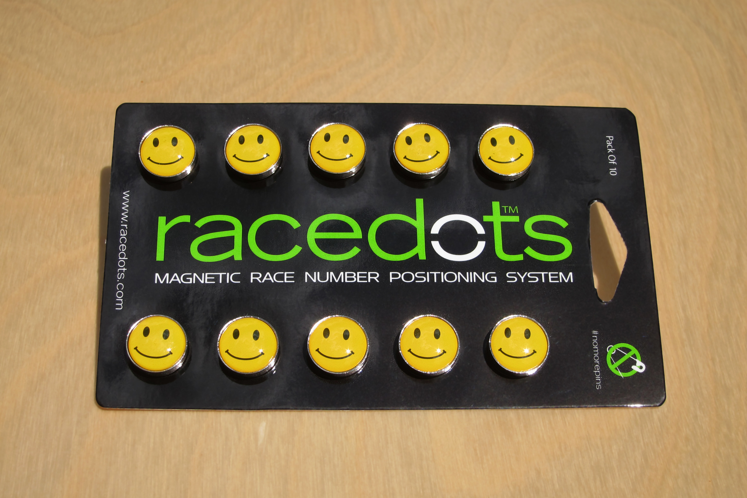RaceDots pack of 10