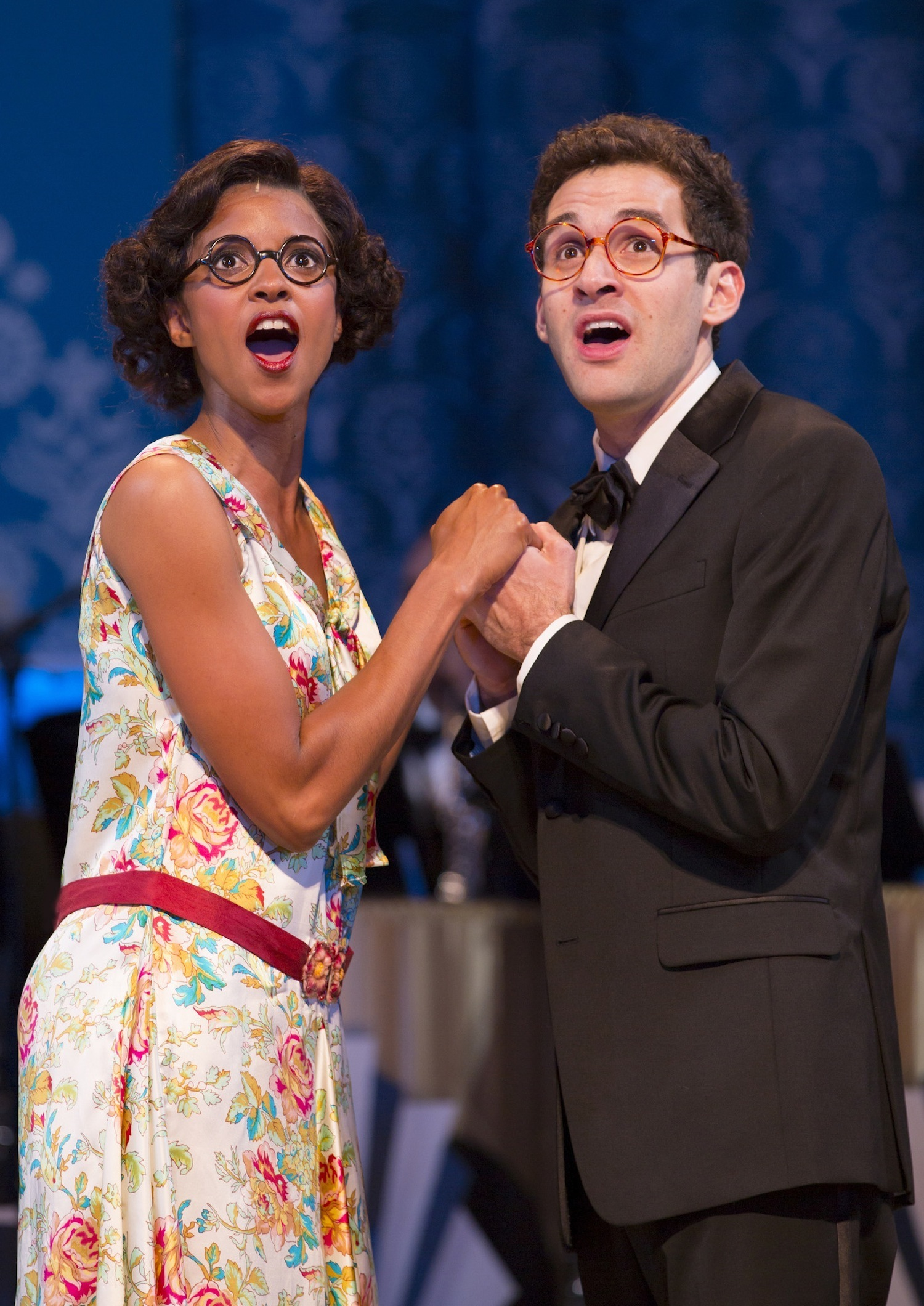 Renee Elise Goldsberry, Adam Chandler-Berat