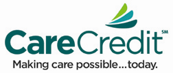 CareCredit makes 0% interest financing possible for our patients