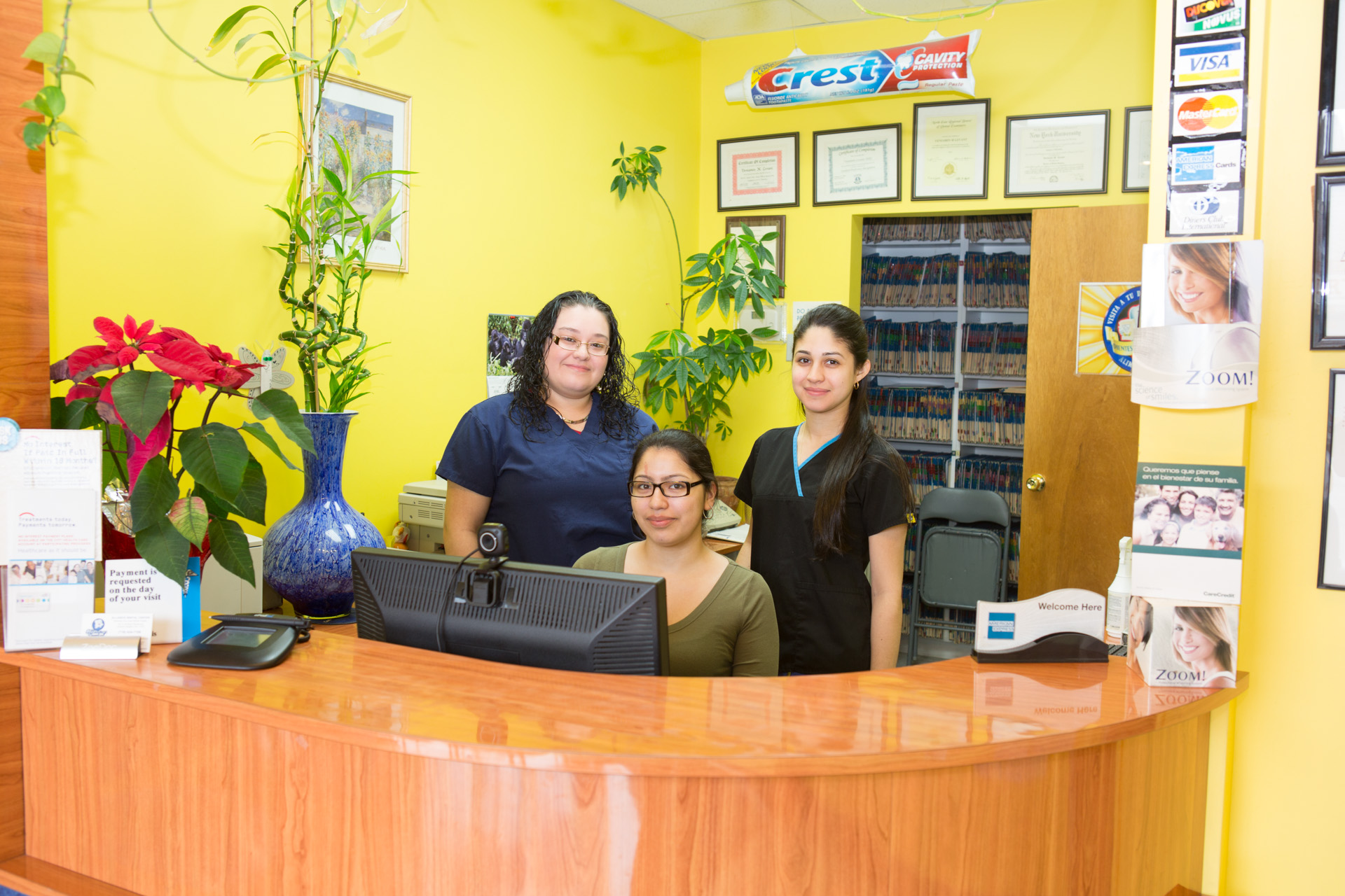 Our Friendly office staff