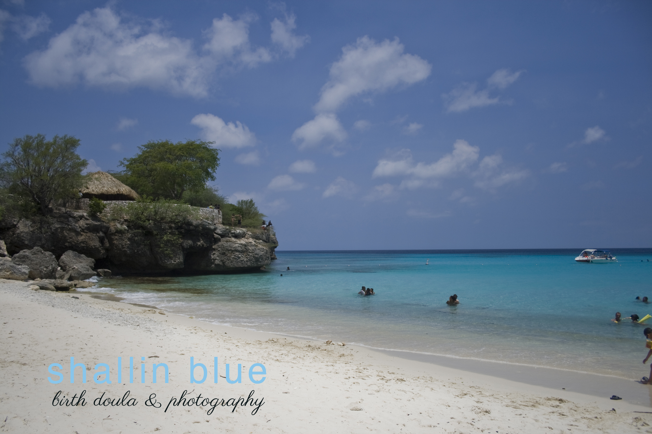 The hue of Shallin Blue captured here, at Knip Beach, Curacao