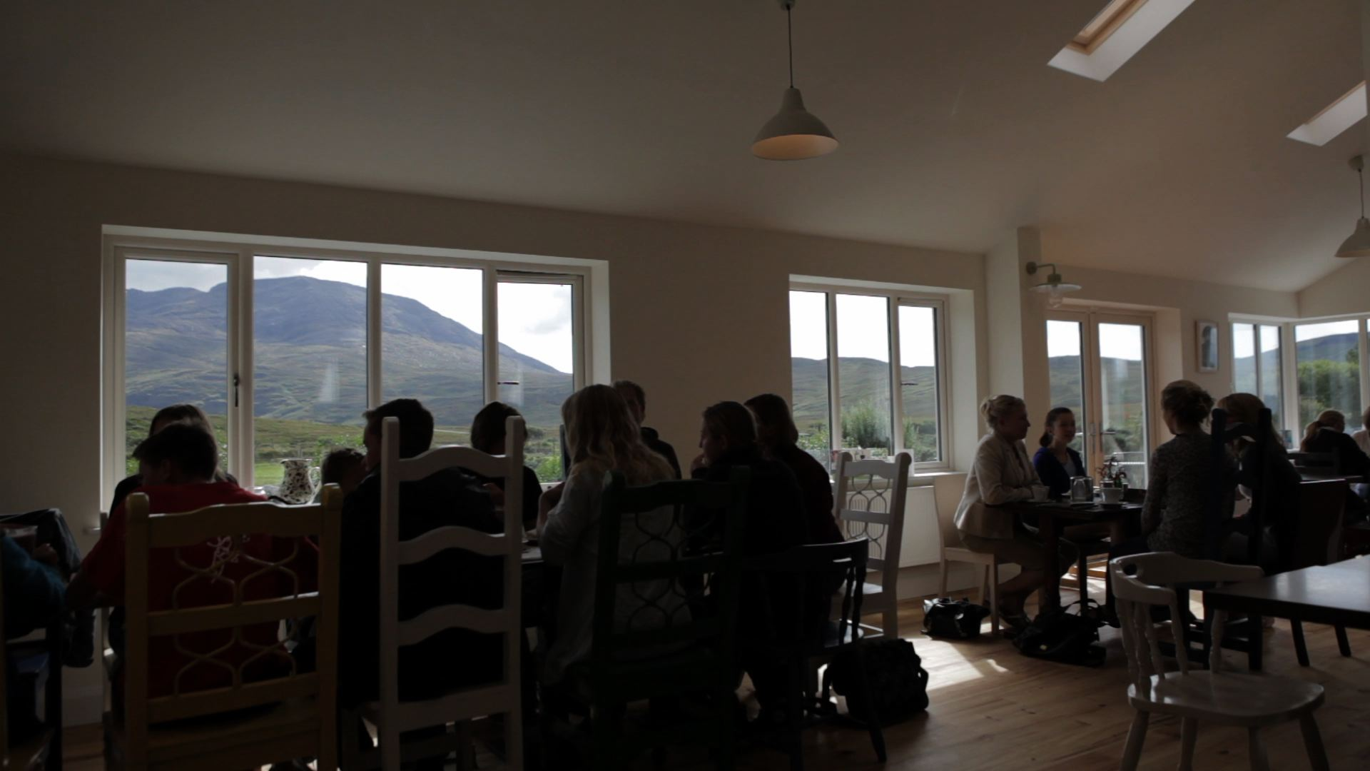 After going for a walk or feeding the animals, the tea rooms are a great place to relax & have a cup of tea & cake & take in the beauty of surroundings .